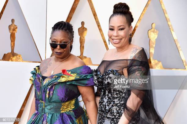 Whoopi Goldberg and Alex Martin attends the 90th Annual Academy Awards at Hollywood Highland Center on March 4 2018 in Hollywood California
