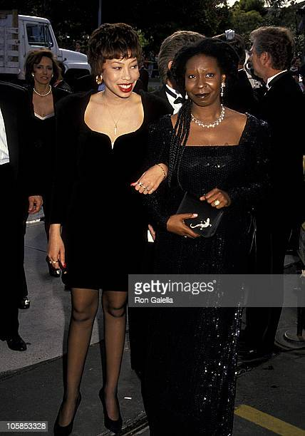 Whoopi Goldberg and Daughter Alexandra Martin during 63rd Annual Academy Awards at Shrine Auditorium in Los Angeles California United States