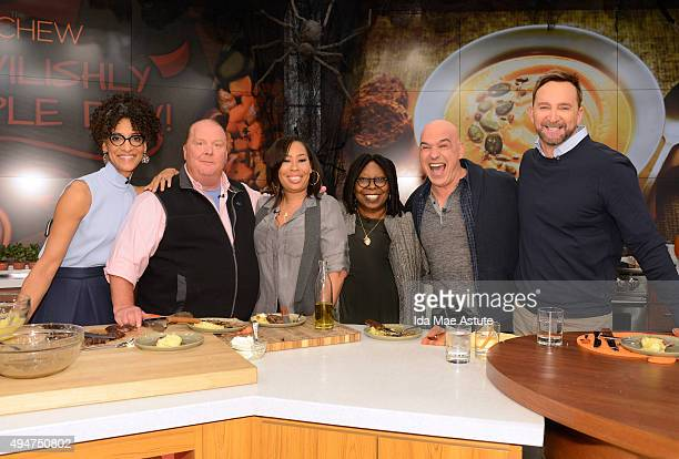 THE CHEW Whoopi Goldberg and her daughter Alex Martin Dean cook on THE CHEW airing WEDNESDAY OCT 28 on the Walt Disney Television via Getty Images...