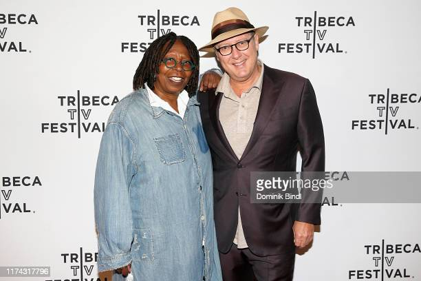 Whoopi Goldberg and James Spader during the Tribeca Talks at the 2019 Tribeca TV Festival at Regal Battery Park Cinemas on September 12 2019 in New...