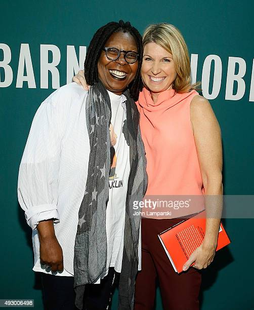 Whoopi Goldberg and Nicolle Wallace sign copies of If Someone Says You Complete Me RUN Whoopi's Big Book of Relationships at Barnes Noble Union...