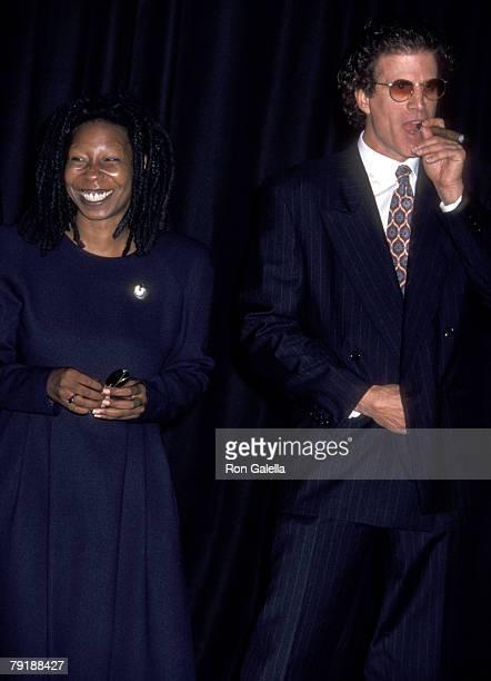 Whoopi Goldberg and Ted Danson