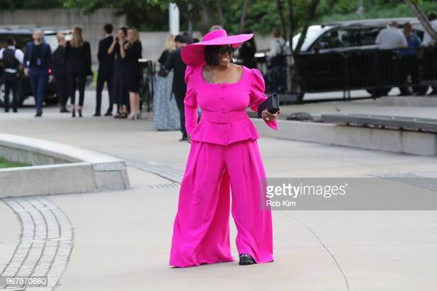 Whoopi Goldberg arrives for the 2018 CFDA Fashion Awards at Brooklyn Museum on June 4, 2018 in New York City.
