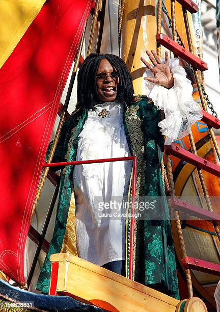 Whoopi Goldberg attends 86th Annual Macy's Thanksgiving Day Parade on November 22 2012 in New York City