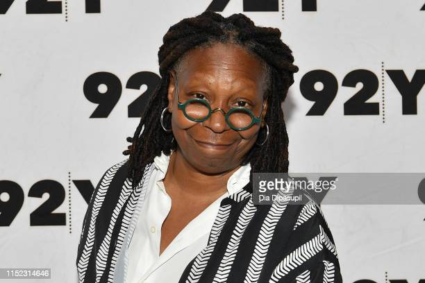 Whoopi Goldberg attends Abbi Jacobson & Ilana Glazer in Conversation with Whoopi Goldberg at 92nd Street Y on May 28, 2019 in New York City.