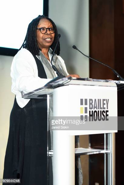 Whoopi Goldberg attends Bailey House Gala Auction 2018 at Pier 60 Chelsea Piers on March 8 2018 in New York City