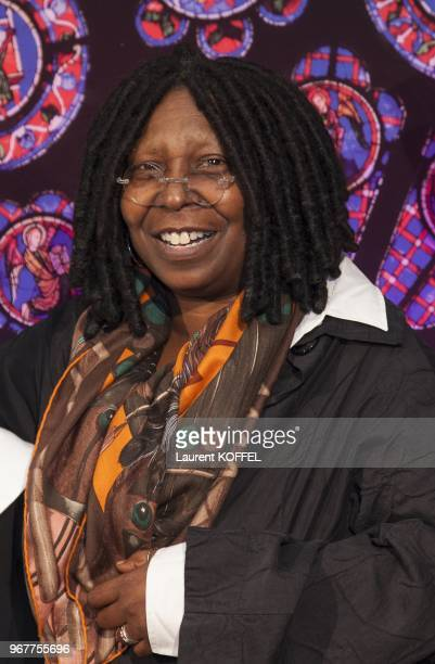 Whoopi Goldberg attends 'Sister Act The Musical' Gala Premiere at Theatre Mogador on September 20 2012 in Paris France