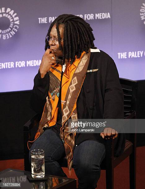 Whoopi Goldberg attends Sonny Fox Forty Years In Television A Conversation With Whoopi Goldberg at The Paley Center for Media on September 24 2012 in...