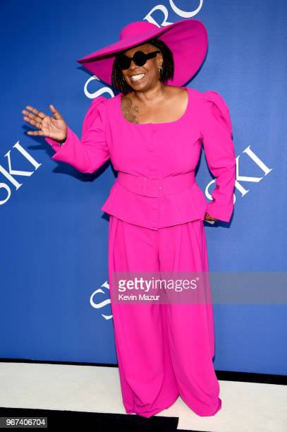 Whoopi Goldberg attends the 2018 CFDA Fashion Awards at Brooklyn Museum on June 4 2018 in New York City