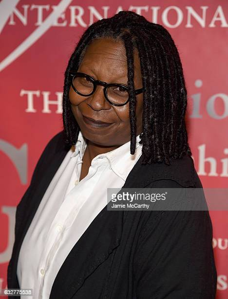 Whoopi Goldberg attends the 20th Annual FGI Rising Star Awards at Cipriani 42nd Street on January 26 2017 in New York City