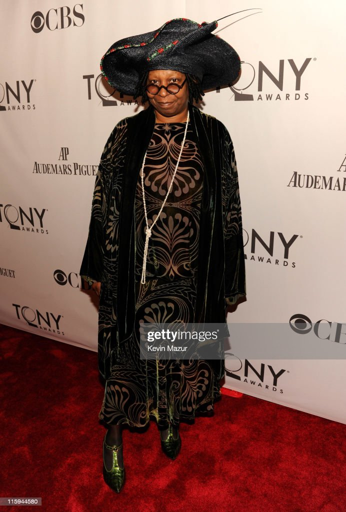 Whoopi Goldberg attends the 65th Annual Tony Awards at the Beacon Theatre on June 12, 2011 in New York City.