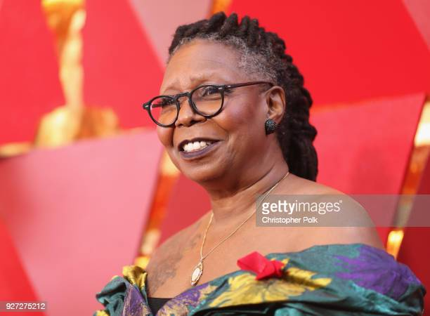 Whoopi Goldberg attends the 90th Annual Academy Awards at Hollywood Highland Center on March 4 2018 in Hollywood California