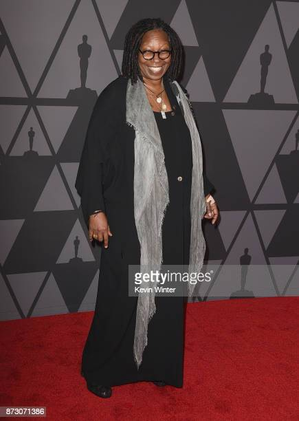 Whoopi Goldberg attends the Academy of Motion Picture Arts and Sciences' 9th Annual Governors Awards at The Ray Dolby Ballroom at Hollywood Highland...