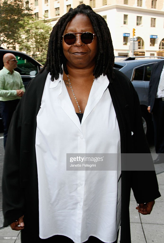 Whoopi Goldberg attends the Annual Charity Day Hosted By Cantor Fitzgerald And BGC at the Cantor Fitzgerald Office on September 11, 2013 in New York, United States.