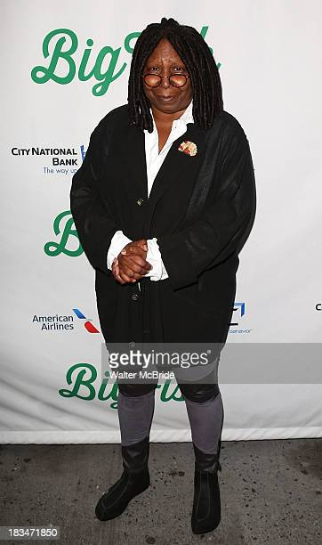 """Whoopi Goldberg attends the """"Big Fish"""" Broadway Opening Night at Neil Simon Theatre on October 6, 2013 in New York City."""