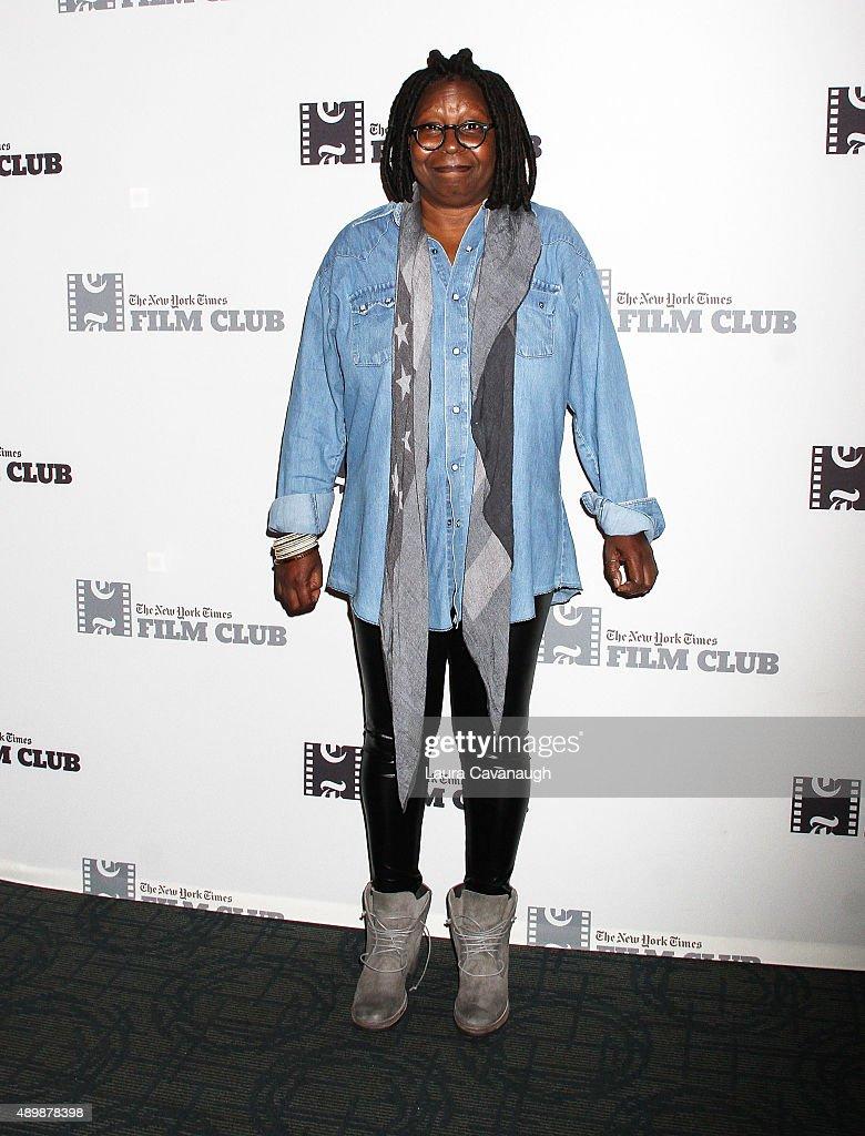 Whoopi Goldberg attends the 'Big Stone Gap' New York Screening at Sunshine Landmark on September 24, 2015 in New York City.