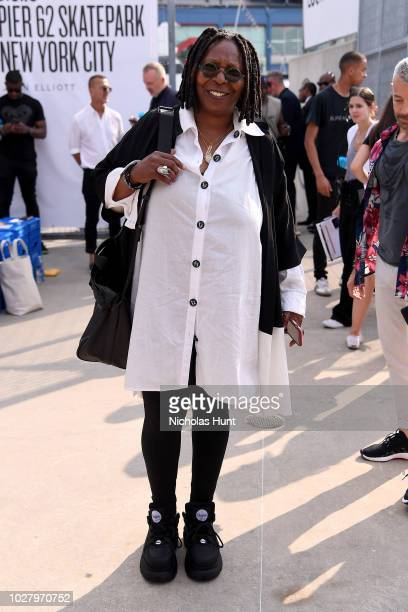 Whoopi Goldberg attends the John Elliott front row during New York Fashion Week: The Shows on September 6, 2018 in New York City.