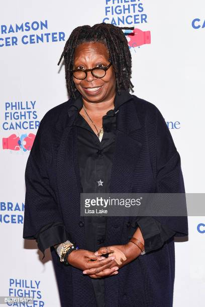 Whoopi Goldberg attends the Philly Fights Cancer Round 3 Fundraiser for The Abramson Cancer Center at Penn Medicine on October 28 2017 in...
