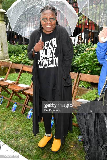 Whoopi Goldberg attends the Rodarte Front Row during New York Fashion Week The Shows on September 9 2018 in New York City