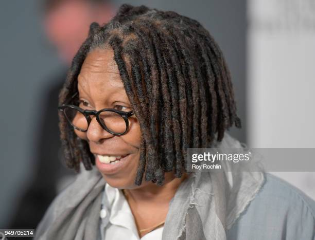 Whoopi Goldberg attends the Shorts Program The History of White People in America during the 2018 Tribeca Film Festival at Regal Battery Park 11 on...