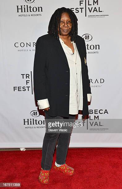 Whoopi Goldberg attends the TFF Awards Night during the 2013 Tribeca Film Festival on April 25 2013 in New York City