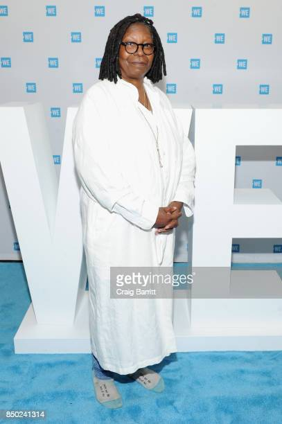 Whoopi Goldberg attends the WE Day UN at The Theater at Madison Square Garden on September 20 2017 in New York City