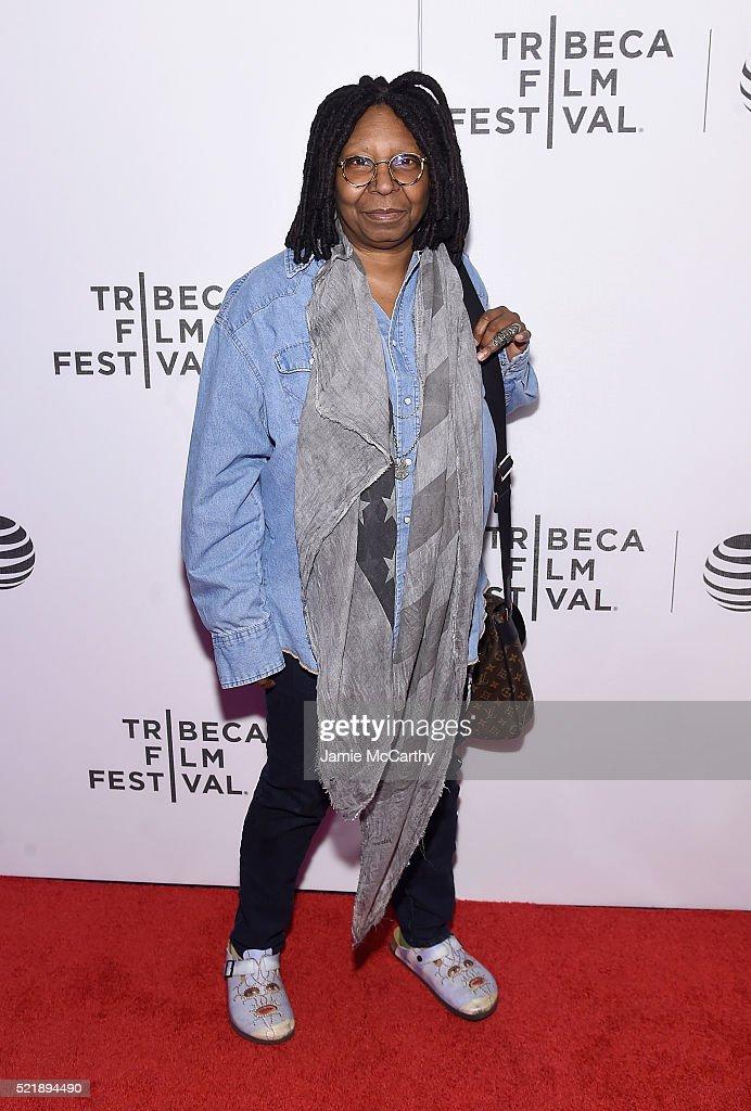 Whoopi Goldberg attends Whoopi's Shorts - 2016 Tribeca Film Festival at Festival Hub on April 17, 2016 in New York City.