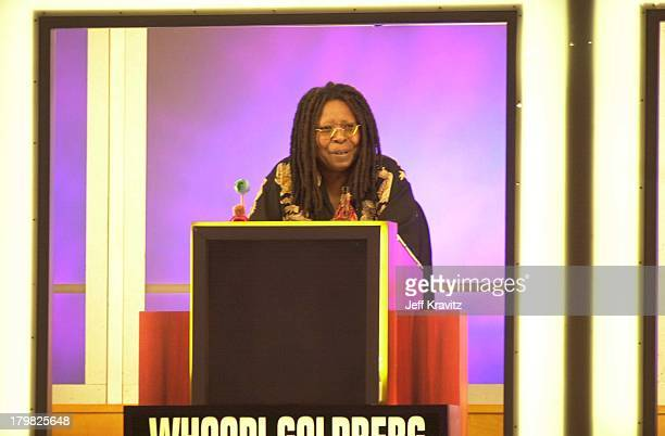 Whoopi Goldberg during Hollywood Squares Taping 2000 in Los Angeles California United States