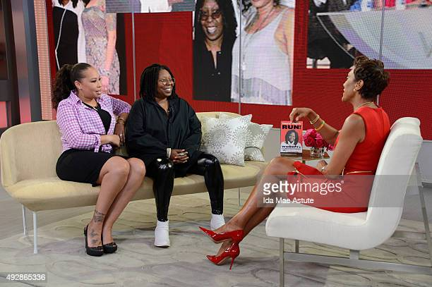 AMERICA Whoopi Goldberg joined by her daughter Alex Martin talks about her latest book If Someone Says 'You complete Me' Run on GOOD MORNING AMERICA...