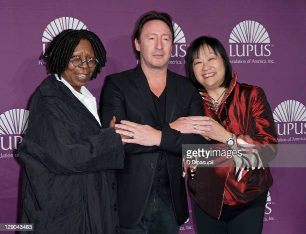 Whoopi Goldberg Lupus Foundation Of America Global Ambassador Julian Lennon and May Pang attend the 2011 Lupus Foundation Of America Butterfly Gala...