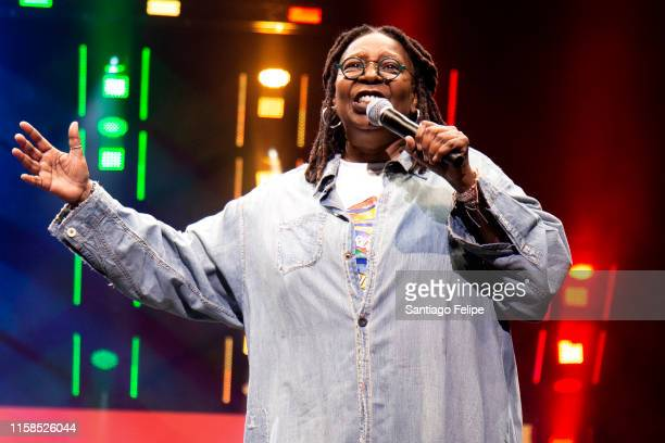Whoopi Goldberg onstage during Opening Ceremony 'WorldPride NYC 2019' at Barclays Center on June 26, 2019 in New York City.