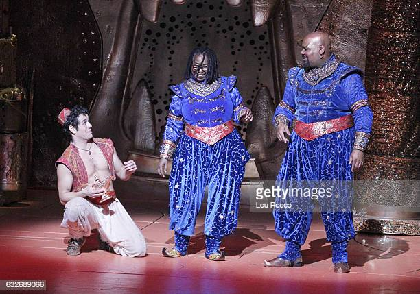 THE VIEW Whoopi Goldberg recently made a surprise cameo with TonyAward winner James Monroe Iglehart on stage at Disney's Aladdin Tune in to ABC's...