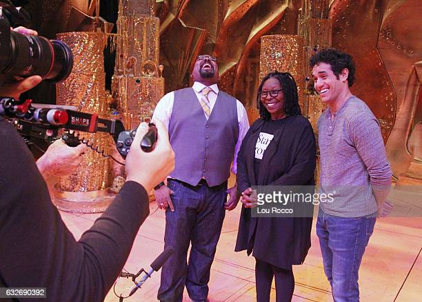 THE VIEW Whoopi Goldberg recently made a surprise cameo with TonyAward winner James Monroe Iglehart on stage at Disney's Aladdin Tune in to Walt...