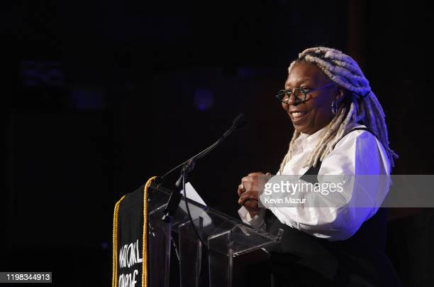 Whoopi Goldberg speaks onstage during The National Board of Review Annual Awards Gala at Cipriani 42nd Street on January 08, 2020 in New York City.
