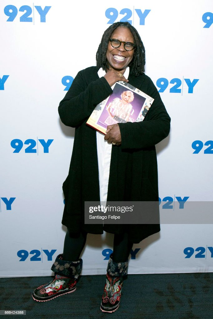 Whoopi Goldberg visits 92nd Street Y on October 25, 2017 in New York City.