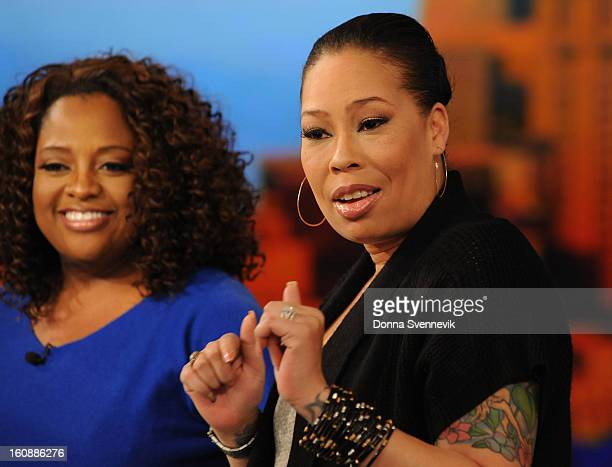 THE VIEW Whoopii's daughter Alexandrea Martin is a guest cohostson THE VIEW 2/5/13 airing on the ABC Television Network SHERRI