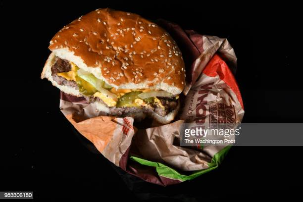 Whopper from Burger King is photographed April 18 2018 in Washington DC