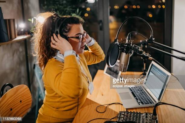 who's got to be next in my show - radio broadcasting stock pictures, royalty-free photos & images