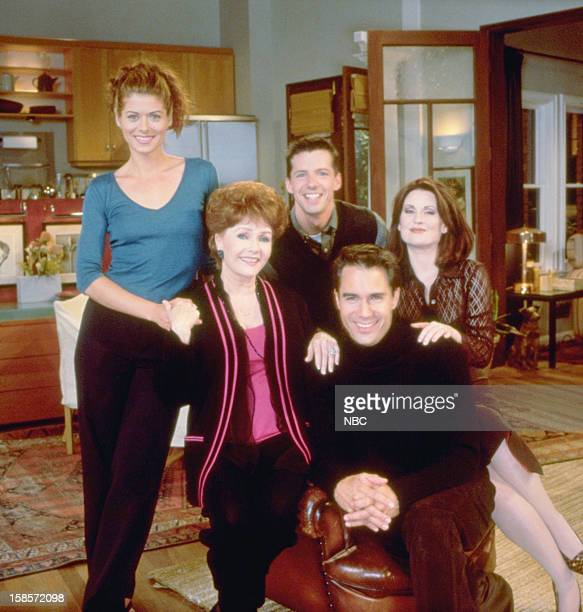 WILL GRACE 'Who's Mom is it Anyway' Episode 4 Pictured Debra Messing as Grace Adler Debbie Reynolds as Bobbie Adler Sean Hayes as Jack McFarland and...