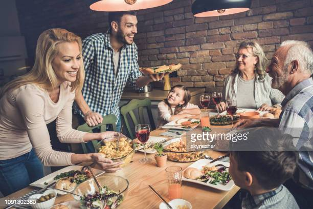 who's ready for lunch? - serving food and drinks stock pictures, royalty-free photos & images
