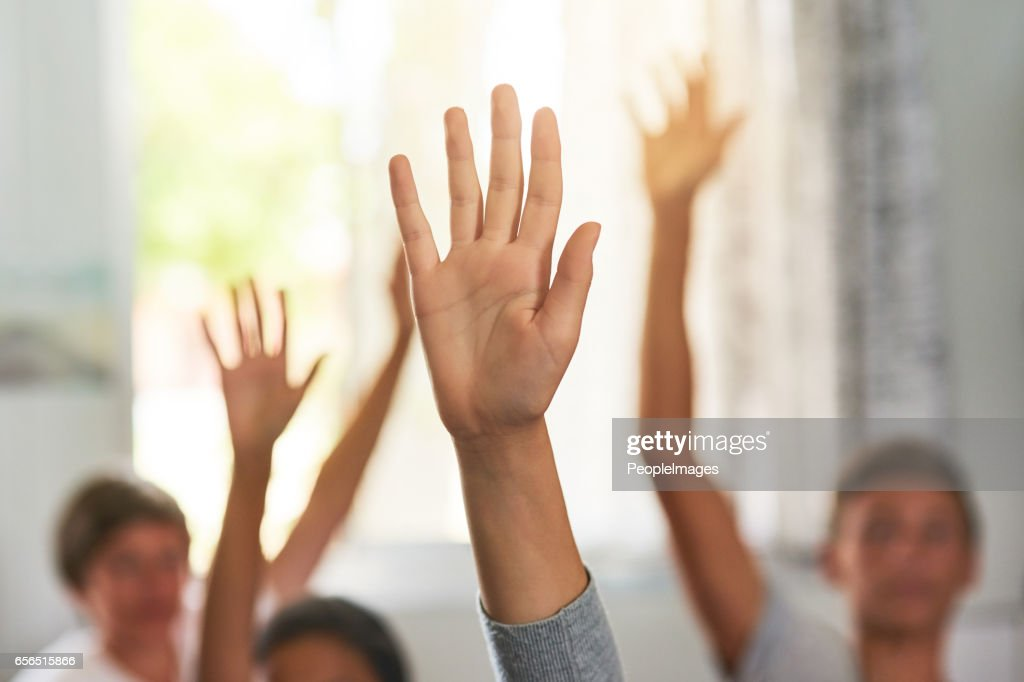 Who's ready for recess? : Stock Photo