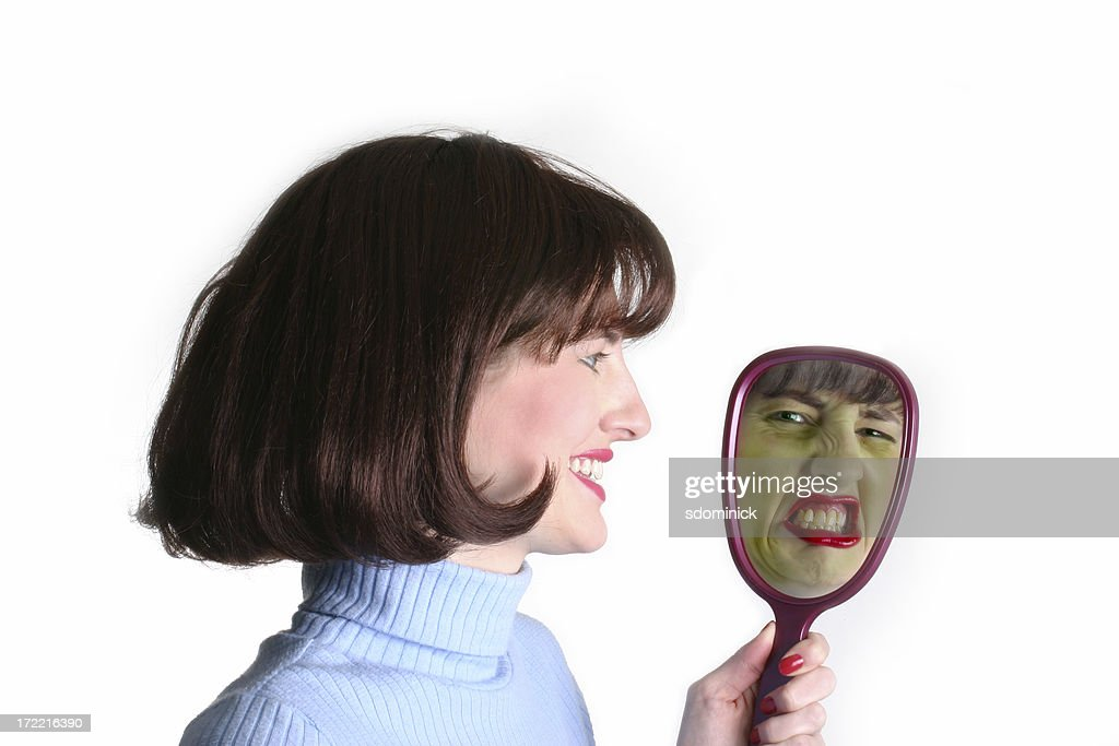 Who's The Fairest of Them All? : Stock Photo