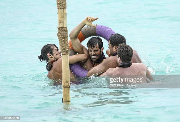 'Who's the Sucker at the Table' Taylor Stocker Ken McNickle Bret LaBelle and Ezekiel/Zeke Smith on the fourth episode of SURVIVOR Millennials vs Gen...