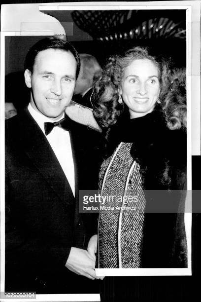 Who's who arriving for the musical 'Cats' at the Theatre RoyalPaul Keating and wife July 27 1985