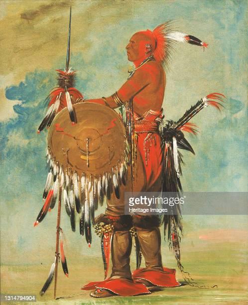 Wáh-pa-ko-lás-kuk, Bear's Track, 1835. Artist George Catlin.