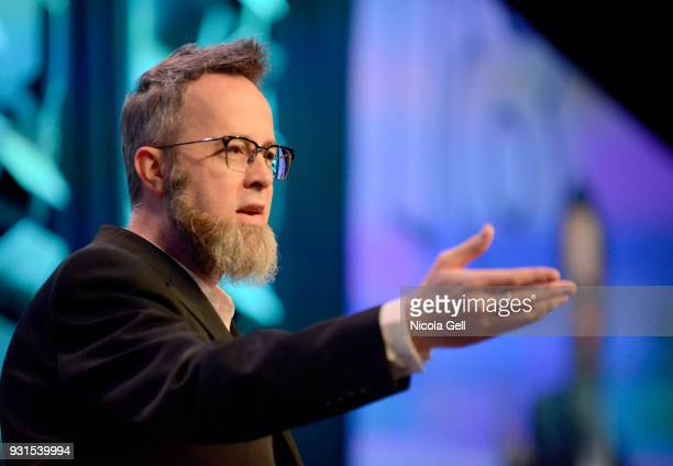 whurley founder and CEO of Strangeworks speaks onstage at Convergence Keynote whurley during SXSW at Austin Convention Center on March 13 2018 in...