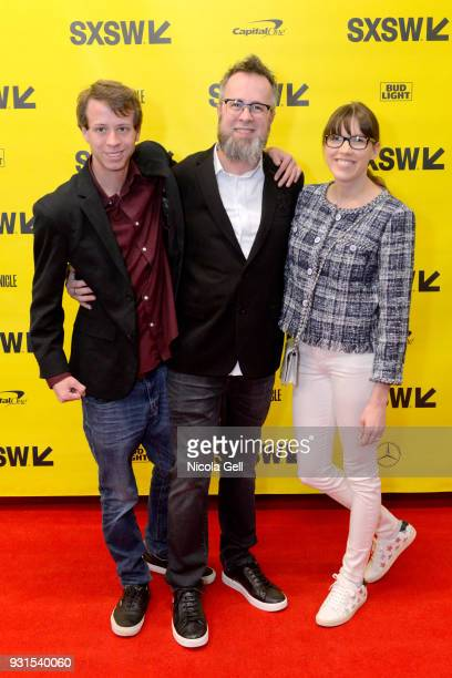 whurley founder and CEO of Strangeworks with family attend Convergence Keynote whurley during SXSW at Austin Convention Center on March 13 2018 in...