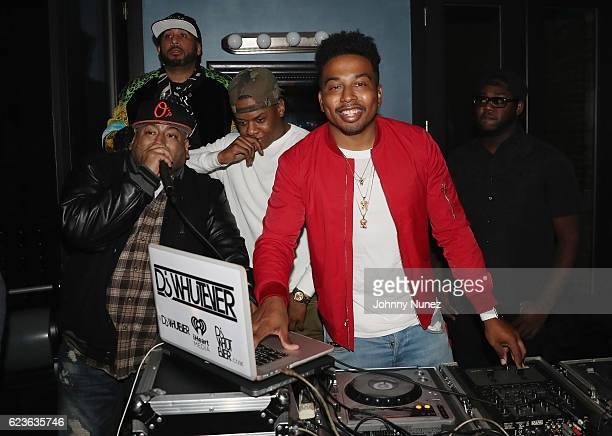 Whutever spins DJ Suss One Birthday Celebration at The Loft on November 15 2016 in New York City