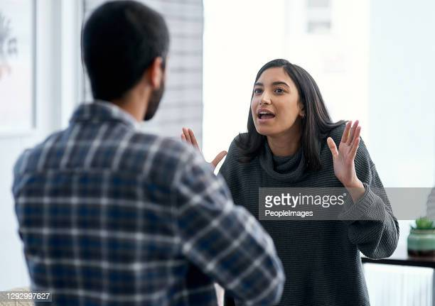 why are fighting?? we're on the same team?? - girlfriend stock pictures, royalty-free photos & images