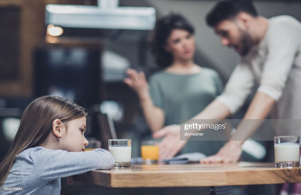 Why are they arguing? : Foto stock